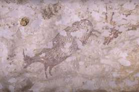 Miris, Lukisan Tertua di Gua Sulawesi di Ambang Hilang