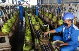 Aduh! Ada Pedagang Jual Tabung LPG Melon secara Ilegal di Singkawang