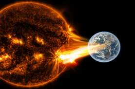 Badai Matahari Kecepatan 2,1 Juta Km per Jam Ancam…