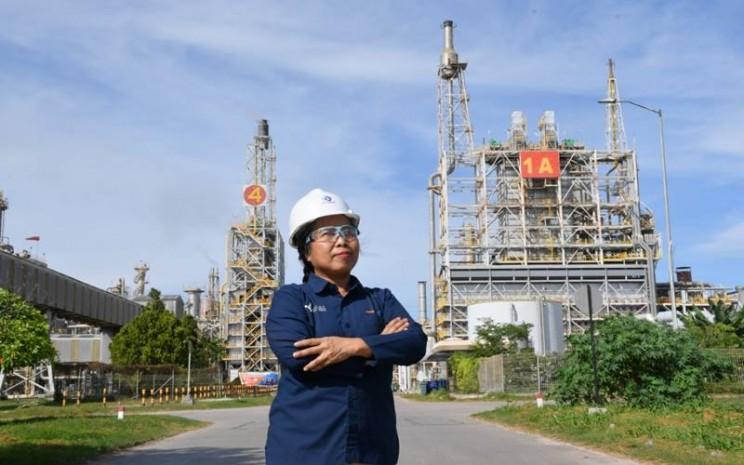 Vice President (VP) Laboratorium PT Pupuk Kalimantan Timur Sivera Dian Getrida. - Istimewa