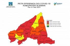 Satgas Covid-19 Warning 7 Kabupaten/Kota Zona Merah…