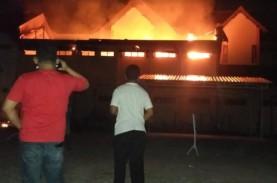 Kantor Pertanahan Klaten Terbakar, Arsip Surat Ukur…
