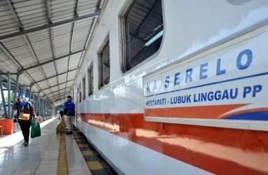 Rangkaian Kereta Api Palembang-Lubuklinggau Kembali Beroperasi