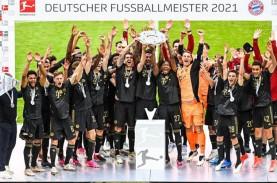 Ini Klasemen Akhir Bundesliga, Tim-tim ke Kompetisi…