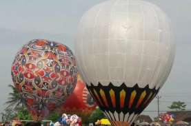 Balon Udara Semarakkan Tradisi Syawalan di Wonosobo