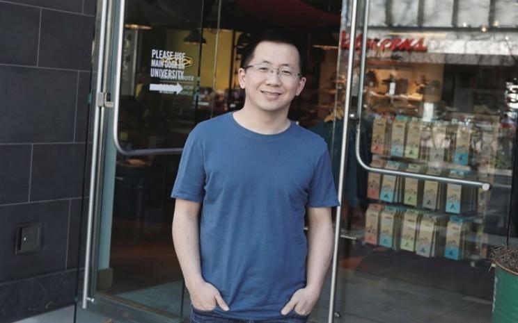 CEO ByteDance Ltd. sekaligus Founder TikTok Zhang Yimin  -  Istimewa