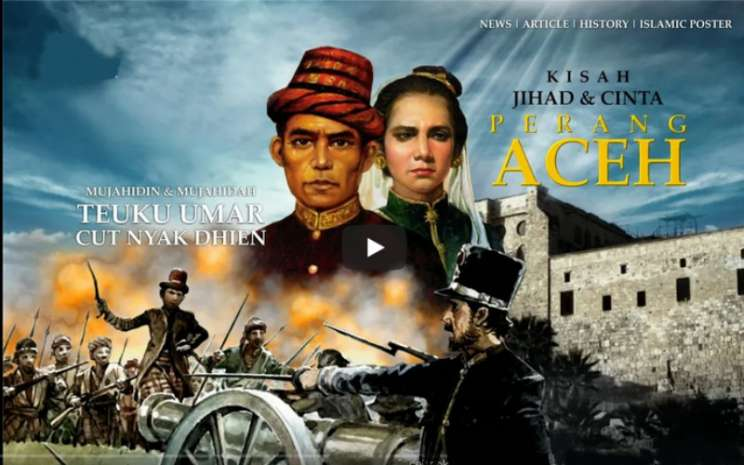 Film Cut Nyak Dhien.  - Youtube