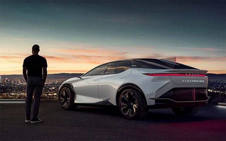 Lexus LF-Z listrik. - ANTARA/Lexus