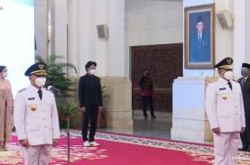 Jokowi Lantik Gubernur Kalteng Sugianto Sabran dan…