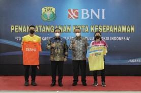 BNI Jadi Sponsor Resmi Atlet Bulu Tangkis Nasional