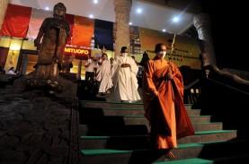 Tak Ada Pelepasan 1.000 Lampion di Borobudur, Perayaan…