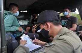 6.925 Orang Melakukan Rapid Test di Pos Penyekatan Arus Balik Bali
