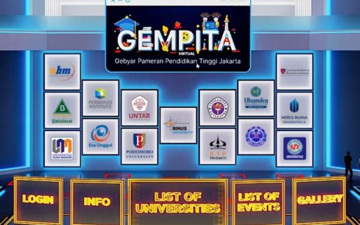 Gebyar Pameran Pendidikan Tinggi Jakarta (GEMPITA). - istimewa
