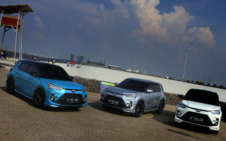 Toyota Raize.  - PT Toyota Astra Motor