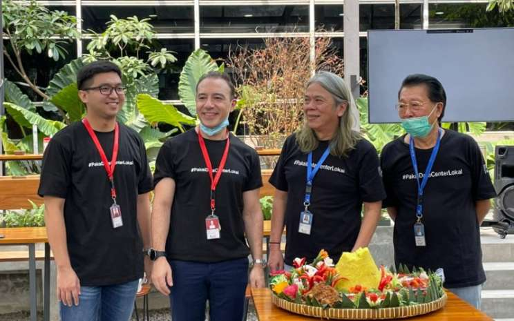 Perusahaan data center, PT DCI Indonesia Tbk. (DCII) meresmikan gedung data center keempat (JK5) di area data center campus yang berlokasi di Cibitung, Kamis (27/5 - 2021).