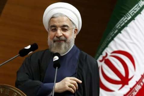Presiden Iran Hassan Rouhani  - reuters