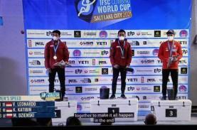 2 Atlet Panjat Tebing Indonesia Ukir Rekor Dunia