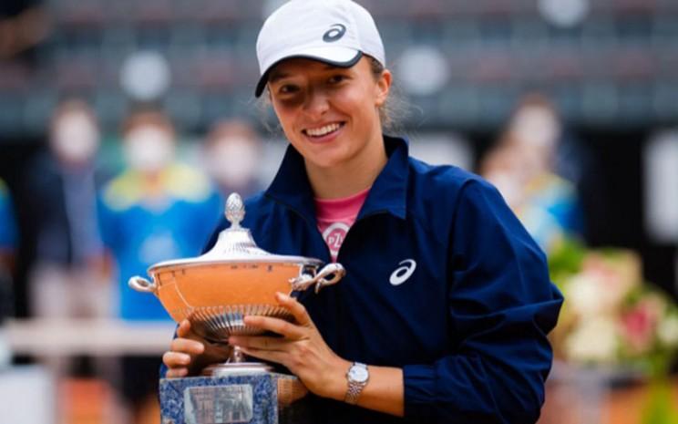 Iga Swiatek juara Italia Terbuka 2021. - WTA Tennis