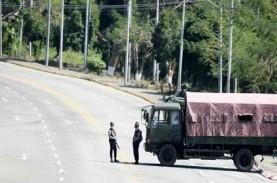 Junta Militer Bunuh Petinggi Etnis Bersenjata Myanmar…