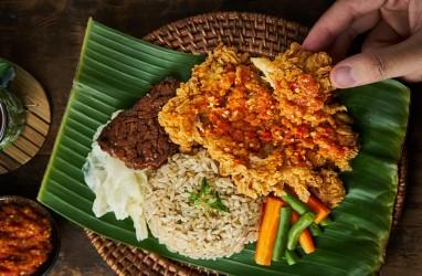 Geprek Bensu dan Yellow Fit Kitchen Bikin Ayam Geprek Rendah Kalori