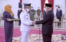 Gubernur Kaltim Lantik Rahmad Mas'ud Jadi Wali Kota Balikpapan