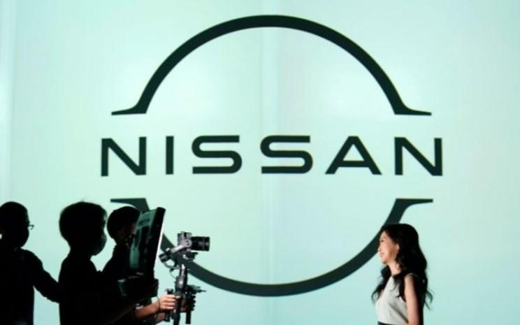 Logo Nissan Motors.  - NISSAN