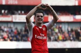 Diincar Mourinho, Granit Xhaka Pilih Bertahan di Arsenal?