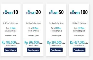 Cara Daftar dan Biaya Langganan Iconnet, Paket Unlimited Mulai Rp185.000/Bulan