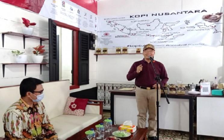 Gubernur Bengkulu Rohidin Mersyah menjadi salah satu inisiator Warkop Digital