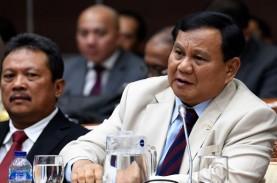 Jawaban Menhan Prabowo soal Anggaran Jumbo Pengadaan…