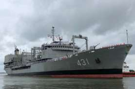 Kapal Perang Terbesar Iran Terbakar dan Tenggelam,…