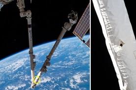 Stasiun Luar Angkasa Internasional Ditabrak Puing-puing…