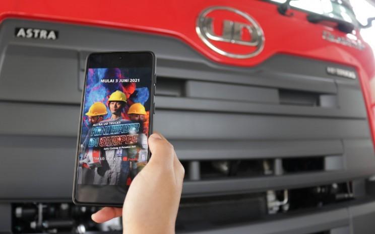 Astra UD Trucks selalu berusaha untuk mempermudah pelanggan dalam mempercepat proses jual beli, salah satunya melalui marketplace.  - Astra UD Trucks