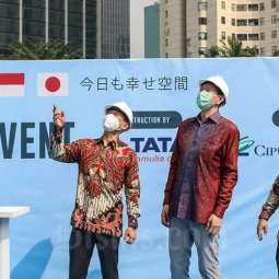 Ciputra Group Candra Ciputra bersama Toda Group Indonesia Gelar Construction Event The Newton 2