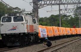 Jalur Kereta Peti Kemas dari Tanjung Perak ke Jakarta Kini Aktif Lagi