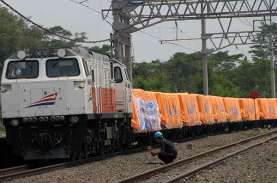 Jalur Kereta Peti Kemas dari Tanjung Perak ke Jakarta…