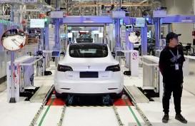 Permintaan di China Anjlok, Saham Tesla pun Melorot