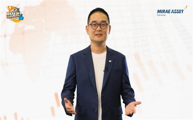 CEO& Presiden Direktur Mirae Asset Sekuritas Tae Yong Shim - Istimewa