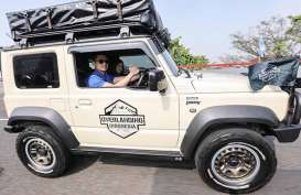 Pelesir Pakai Suzuki Jimny Baru, AHY: Kangen Jimny Jangkrik