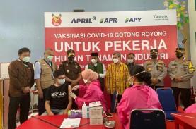 Sukseskan Vaksinasi Gotong Royong, APRIL Dukung Pemulihan…