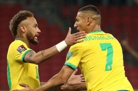 Pra-Piala Dunia 2022 : Brasil Sikat Ekuador, Gol Neymar…