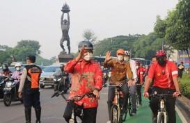 Anies Tegaskan Fasilitas Jalur Sepeda untuk Transportasi, Bukan Sport
