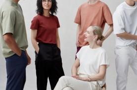Tshirt Siluet Modern dengan Warna Basic Keluaran Uniqlo