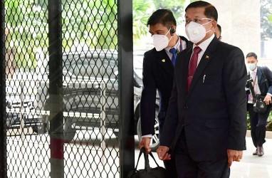 Temui Pemimpin Militer Myanmar, Delegasi Asean Minta Tapol Dibebaskan