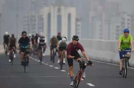 Hari Ini, Uji Coba Sepeda sebagai Alat Transportasi…