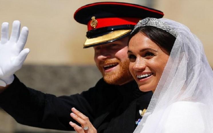 Pangeran Harry dan Meghan Markle. - Instagram @theroyalfamily
