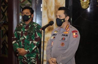 Covid-19 Melonjak, TNI-Polri Lakukan Pendampingan di Kudus dan Bangkalan