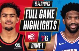 Atlanta Hawks Buka Kemenangan Atas Philadelphia 76ers di Play-off NBA