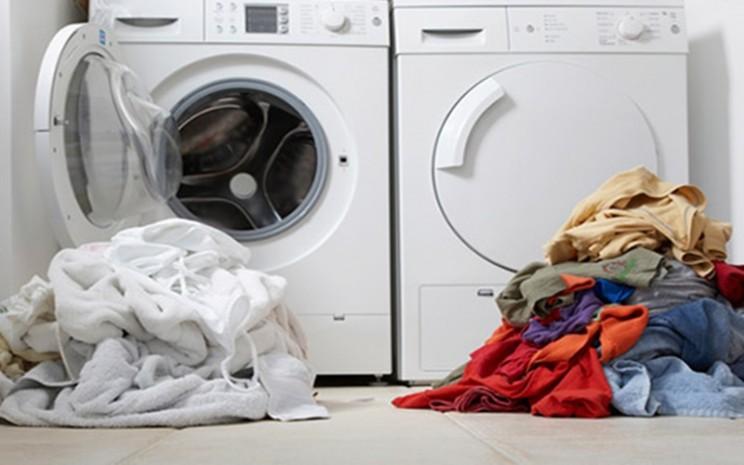 Ilustrasi mencuci pakaian - istimewa