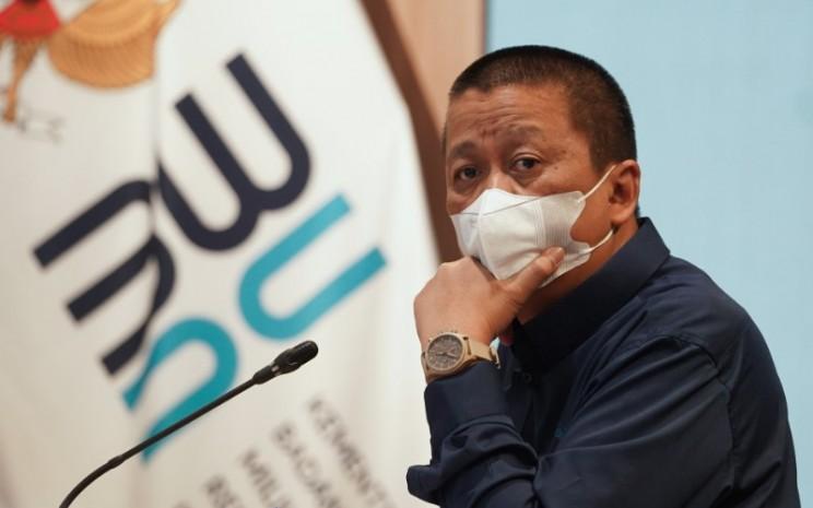 Direktur Utama PT Garuda Indonesia (Persero) Tbk. (GIAA) Setiaputra. Kementerian BUMN meminta agar manajemen Garuda Indonesia secepatnya membenahi pola penyewaan atau leasing pesawatnya sehingga tidak menjadi beban bagi perseroan. -  Istimewa